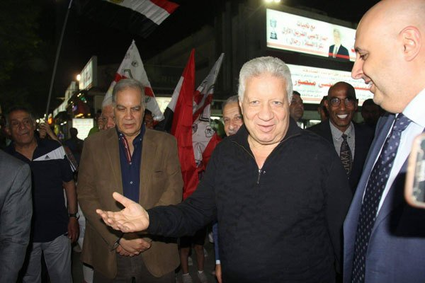 Football boss Mansour says to stand for Egypt president