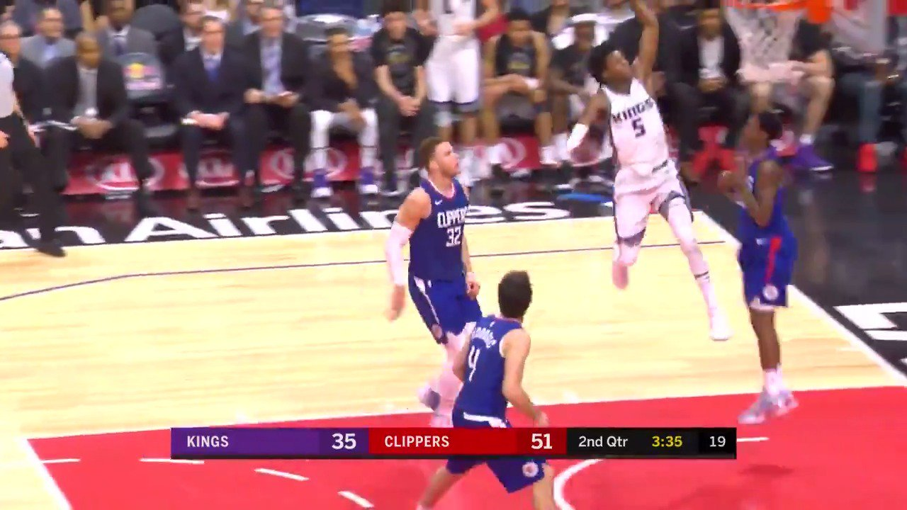 De'Aaron Fox ��  #SacramentoProud #NBARooks https://t.co/urbD3uSqjB