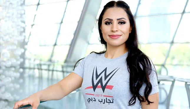 Shadia Bseiso Tweets on Arriving at Performance Center #ShadiaBseiso #WWE #RAW #SDLive https://t.co/TANM2LHOee https://t.co/ToGifNt6Ur