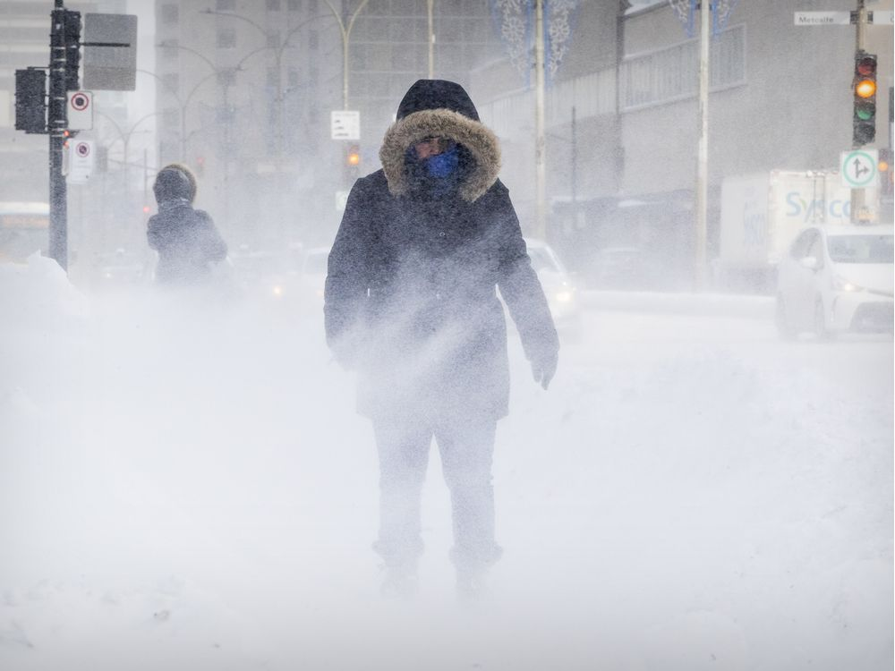 Here we go again: Montreal blanketed by another winter storm