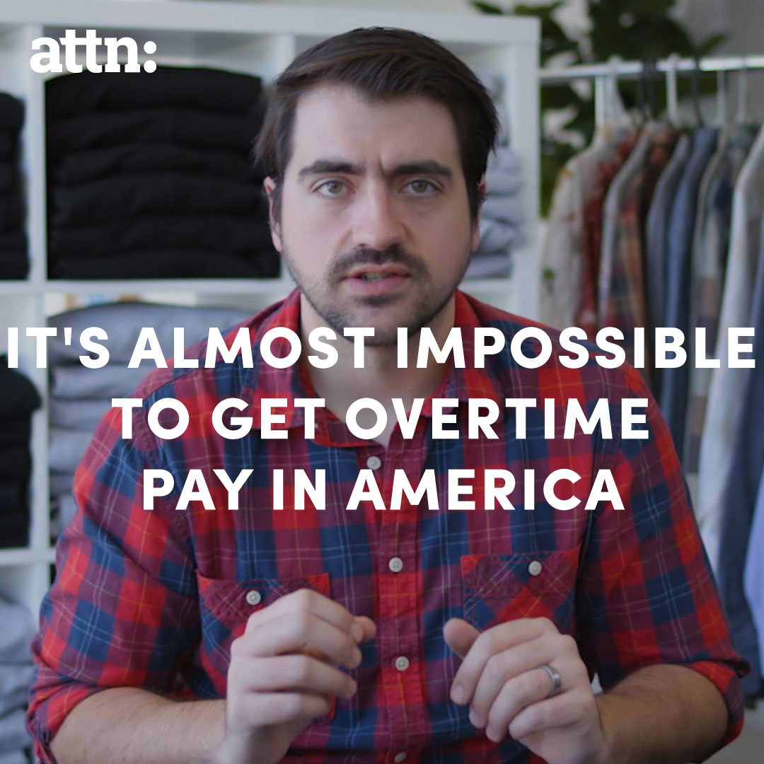 RT @attn: U.S. overtime law are bullsh*t  -- @traecrowder https://t.co/gxIoqY7pIl