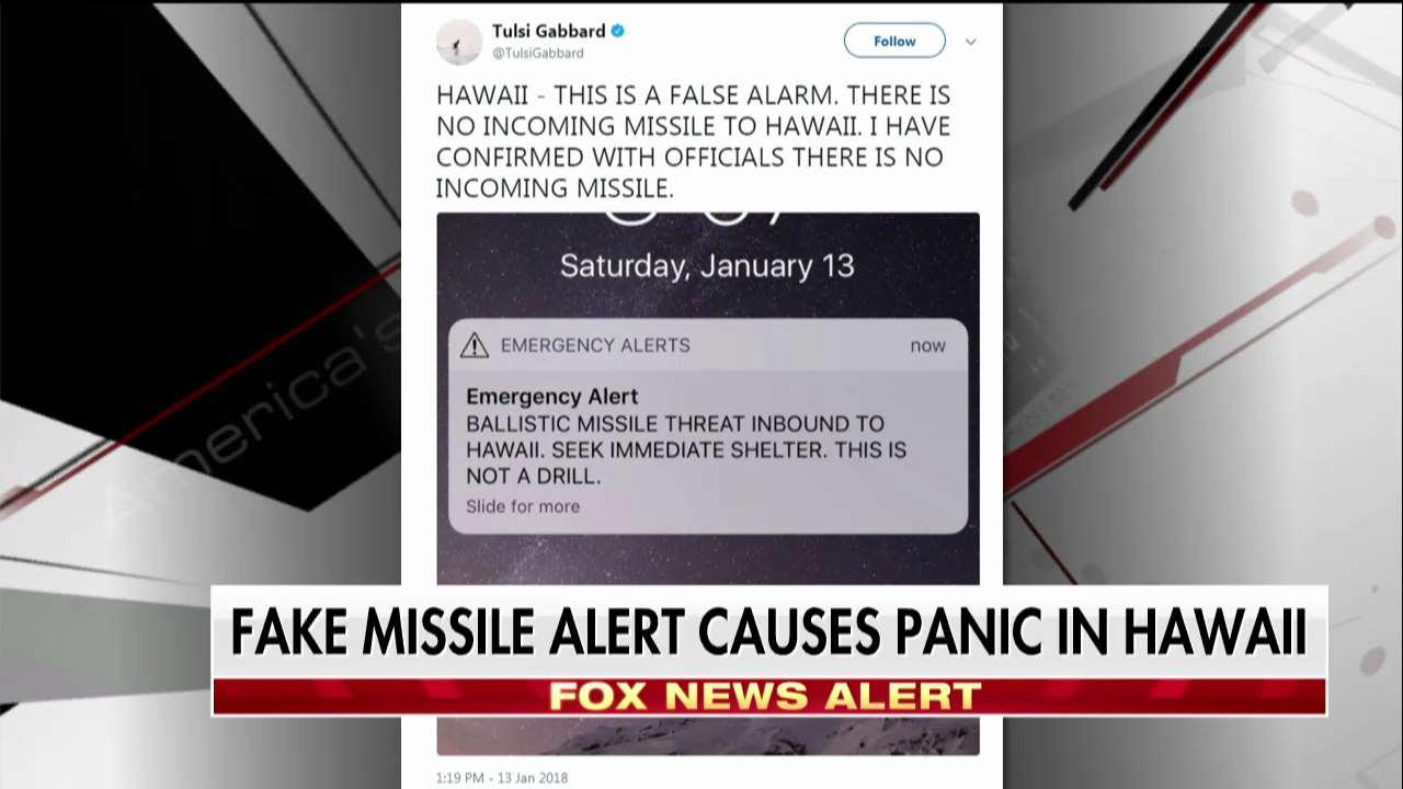 False missile alert causes panic in Hawaii. https://t.co/qJu9Jmyz66 https://t.co/aes2e7iPv6