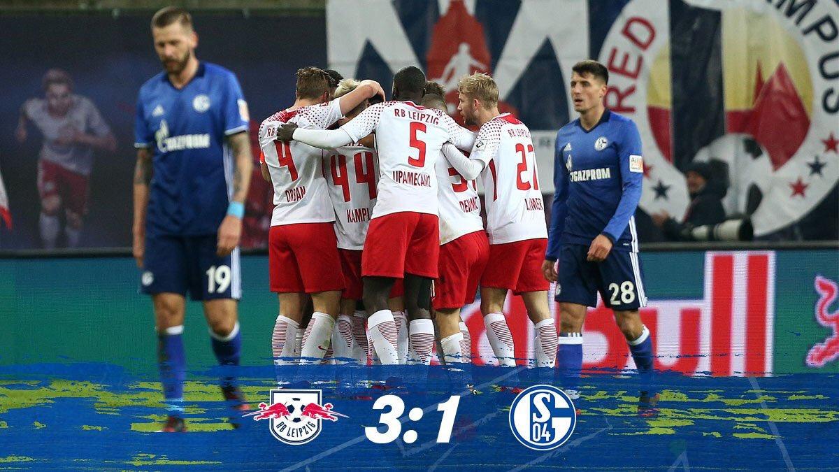 RT @s04_fr: Terminé. Schalke commence l'année par une défaite sur la pelouse de Leipzig.. #RBLS04 https://t.co/ss91fVtuZA