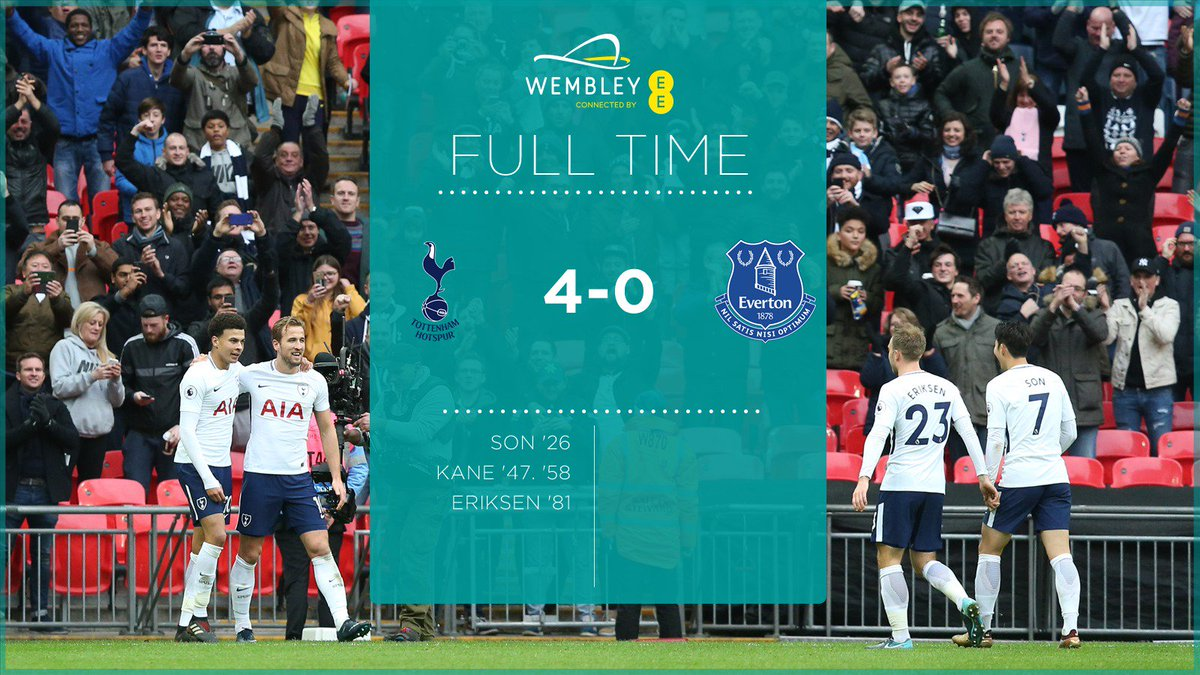 FT - Comfortable win in the end for @SpursOfficial 👏 https://t.co/vwZBbwNZmD