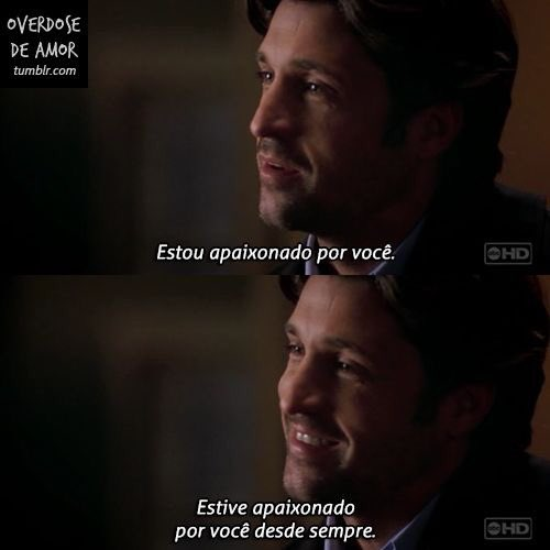 After all this years, all i can say is: thank you for all, i love you  happy birthday patrick dempsey