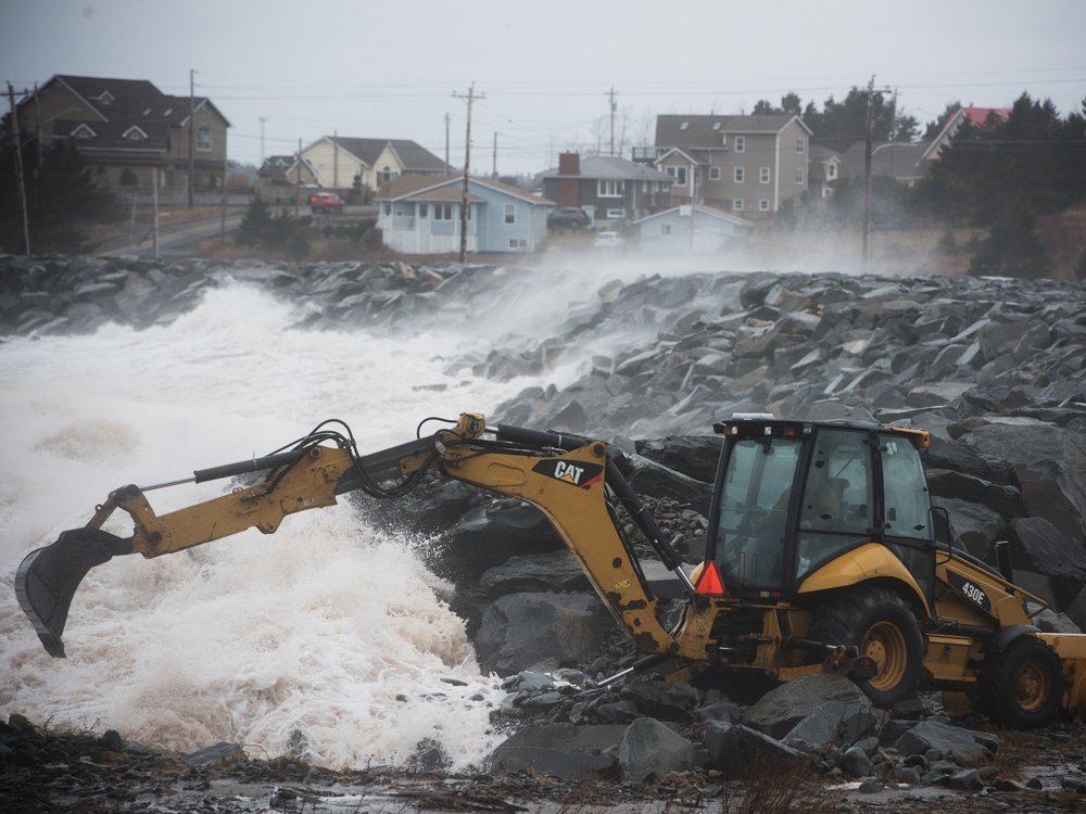 Downpour drenches Atlantic Canada, leading to flooding, power outages and mudslides