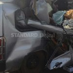 Two dead, six seriously injured in Mombasa Road accident