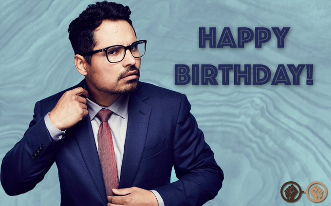Happy birthday, Michael Pena! The talented actor turns 42 today! Catch him next as Red in \A Wrinkle in Time\