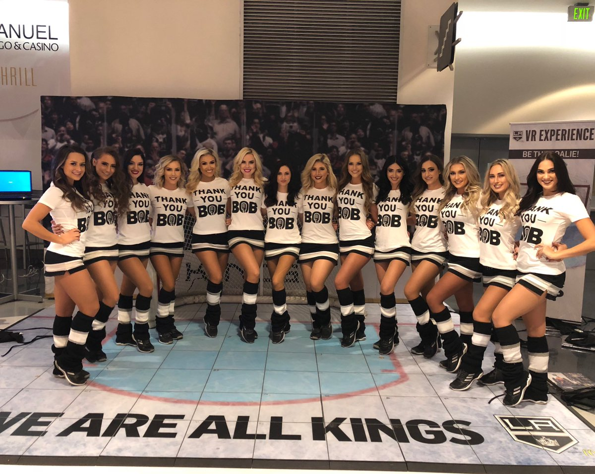 RT @LAKingsIceCrew: We're ready for Bob Miller's big night at @STAPLESCenter #ThankYouBob https://t.co/6eZ8UlaGoC
