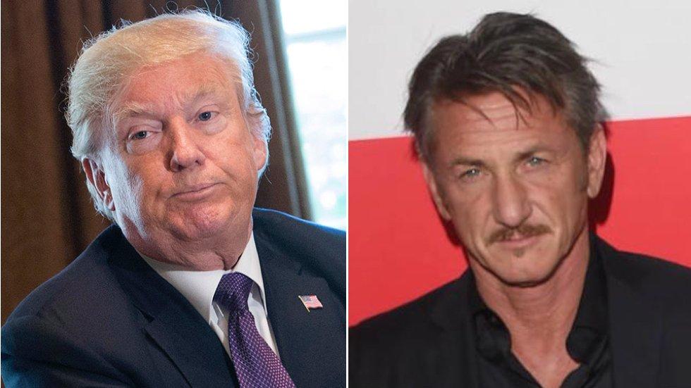 Sean Penn: Trump is 'an enemy of mankind' https://t.co/r3ZLTPKGjt https://t.co/4B8sJ5w26c