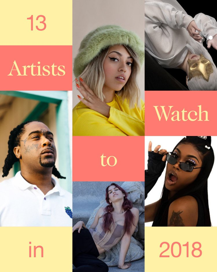 13 artists to keep your ��s on this year. https://t.co/u8kCKNdiYL https://t.co/02dS2F4wU0