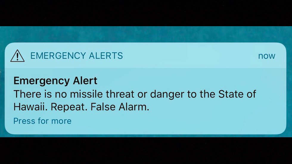 NEW: Hawaii false alarm sparks mass panic and confusion https://t.co/P5RzO0cC2b https://t.co/CepPFmraMI