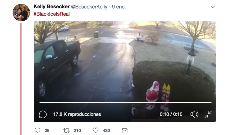 La lucha de un hombre con el hielo en el asfalto se vuelve viral https://t.co/QpsbLpn2SC https://t.co/uWrqwvo94J