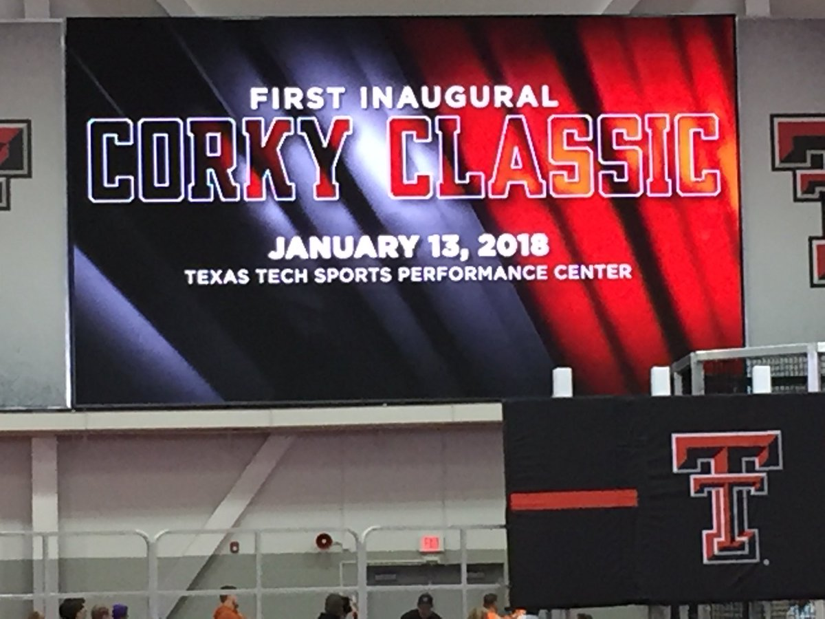 Spent most of my day officiating track at Texas Tech's New $48 million indoor facility. Quite a place!#corkyclassic https://t.co/SY3C7w1jrC