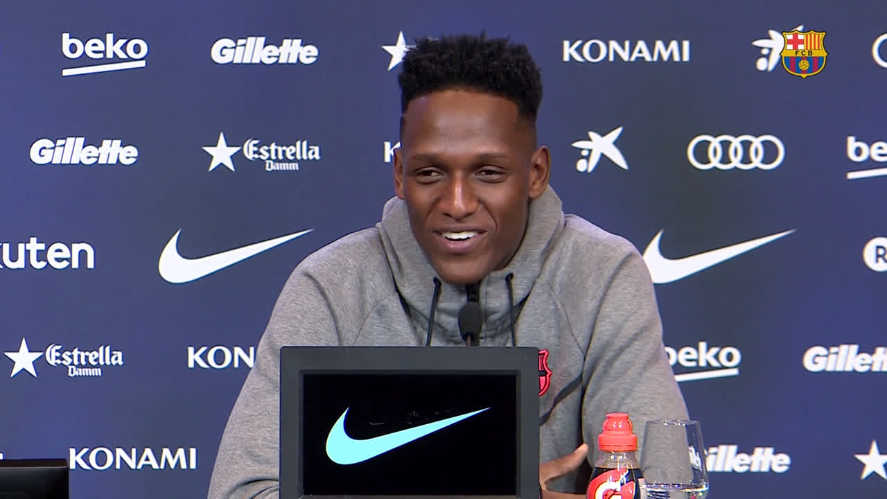 �� 'Feet on the ground, eyes on the sky.' Yerry Mina reflects on his move to Barça... ���� https://t.co/9vK3KzKFkK