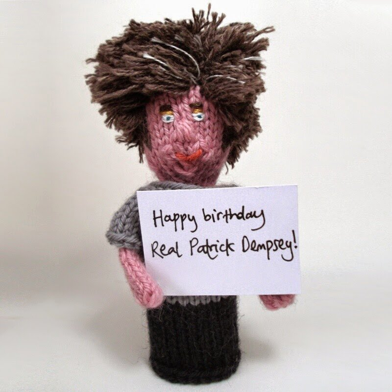 Happy birthday, Real Patrick Dempsey!