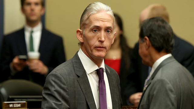 Gowdy resigns from House Ethics Committee: https://t.co/vH8zMUGbmS https://t.co/xF798p9J2g