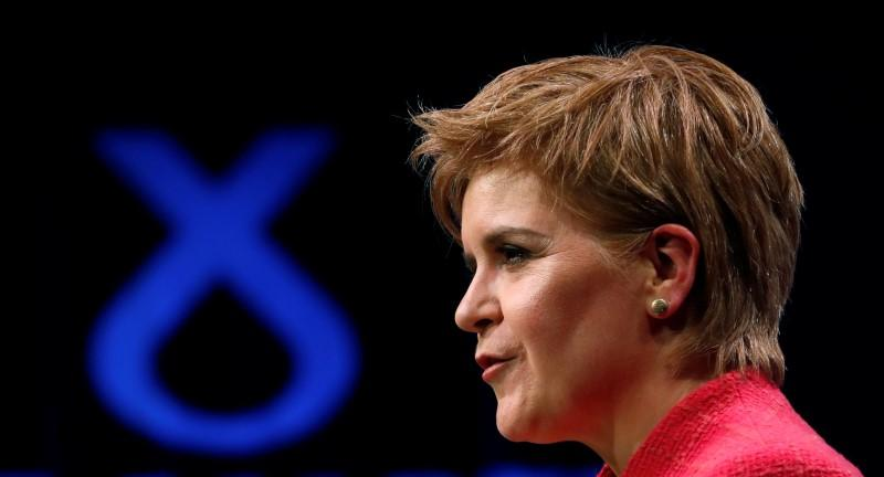 Sturgeon sees 'golden' chance to argue for UK to remain in single market