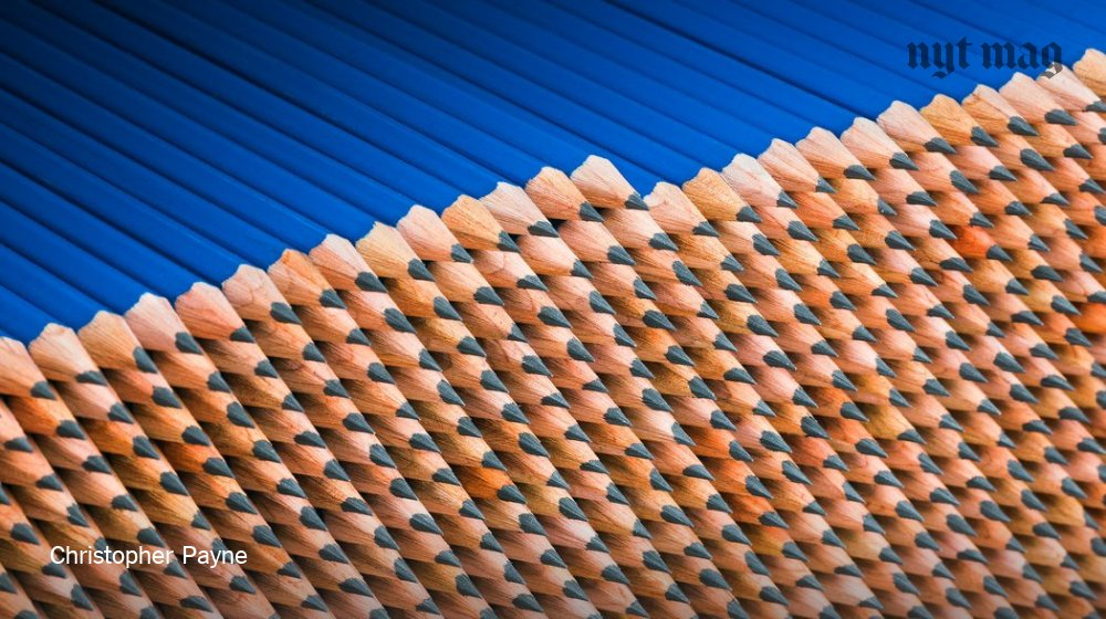 A look inside one of America's last pencil factories https://t.co/KVb9CF1pMB https://t.co/X9ld6EEPOR