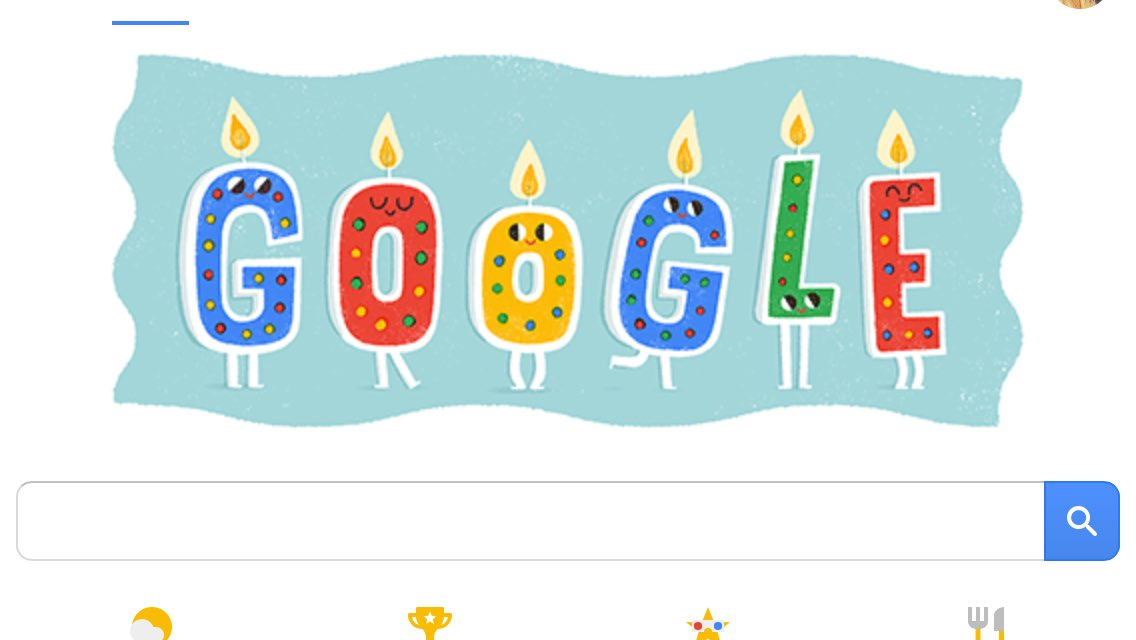 Awh! Google knows my birthday! =] LaYdpR8zCd