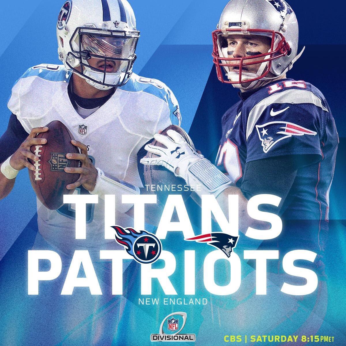 Primer Cuarto en el Gillete Stadium  #Titans 0 #Patriots 0  #TENvsNE #NFLPlayoffs 🏈🏆 https://t.co/XMPNgrk5A7