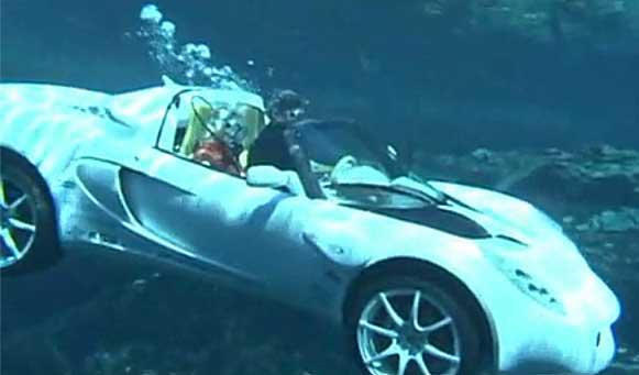@jidan_no_jouken 海底の黒塗りの高級車(イメージ図) https://t.co/EvMpO83qOP