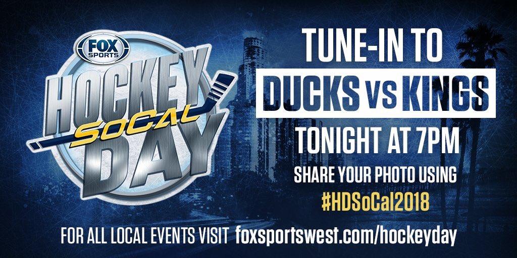 RT @FoxSportsWest: 🚨⬇️🙌🏻 #HDSoCal2018 #FreewayFaceoff @LAKings @AnaheimDucks https://t.co/cA8nx5c3LZ