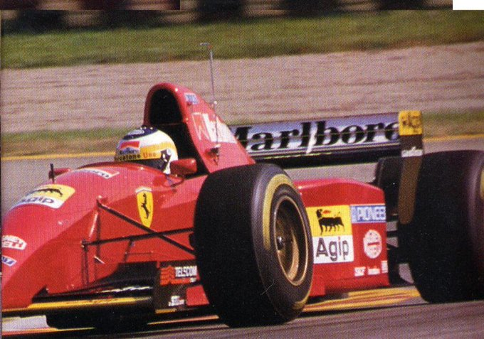 Happy Birthday Giancarlo Fisichella! Ferrari 412t2 test at Fiorano 1995