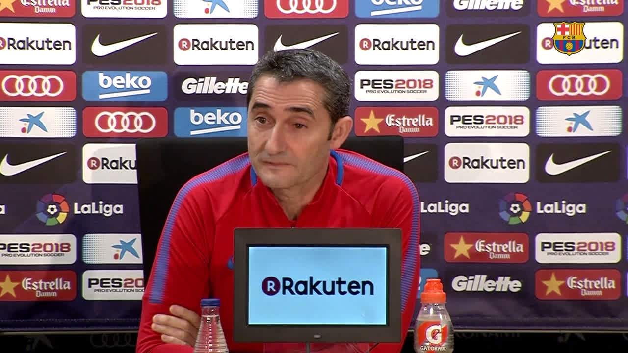 ❓ What can we expect from #RealSociedadBarça? �� Ernesto Valverde has his say... https://t.co/o9ig2byic2