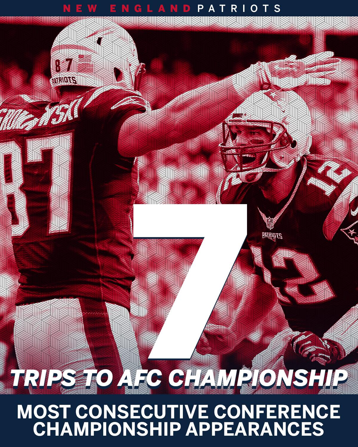 The Patriots are headed to their 7th straight AFC Championship game. https://t.co/pQxhz9HDmr