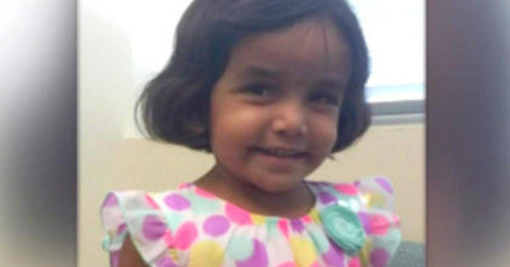 Father who claimed girl choked sherin mathews