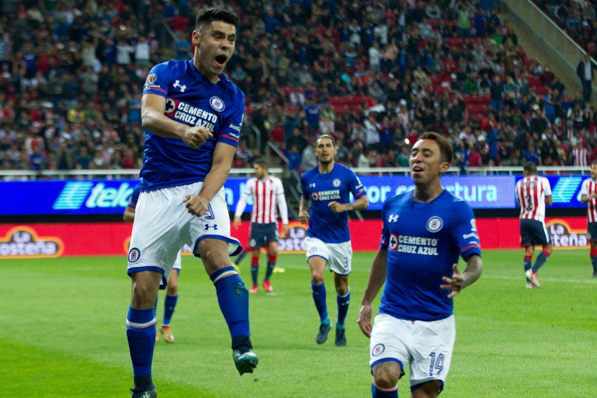 ¡Al 91! Fierro le deja medio gol a Mora y #CruzAzul golea 3-1 a #Chivas  https://t.co/ixmh4BptGi https://t.co/kdvKMtAFu0