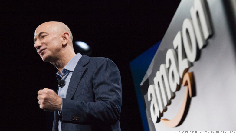 With a net worth of more than $105 billion, Jeff Bezos is now the richest person in history https://t.co/LvbIp13wU5 https://t.co/7JnaQdO7Fv