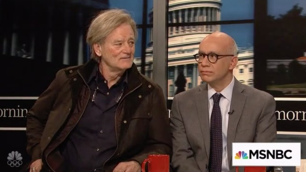 WATCH: Bill Murray appears as Steve Bannon sharing his post-Breitbart plans on 'SNL'  https://t.co/RU8QkE6rtf https://t.co/BpLs7vQ91F