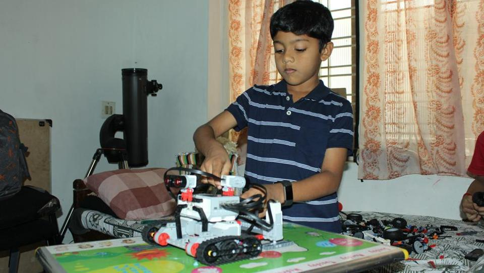 Inspired by dad, Kerala child prodigy ploughs own furrow with robots