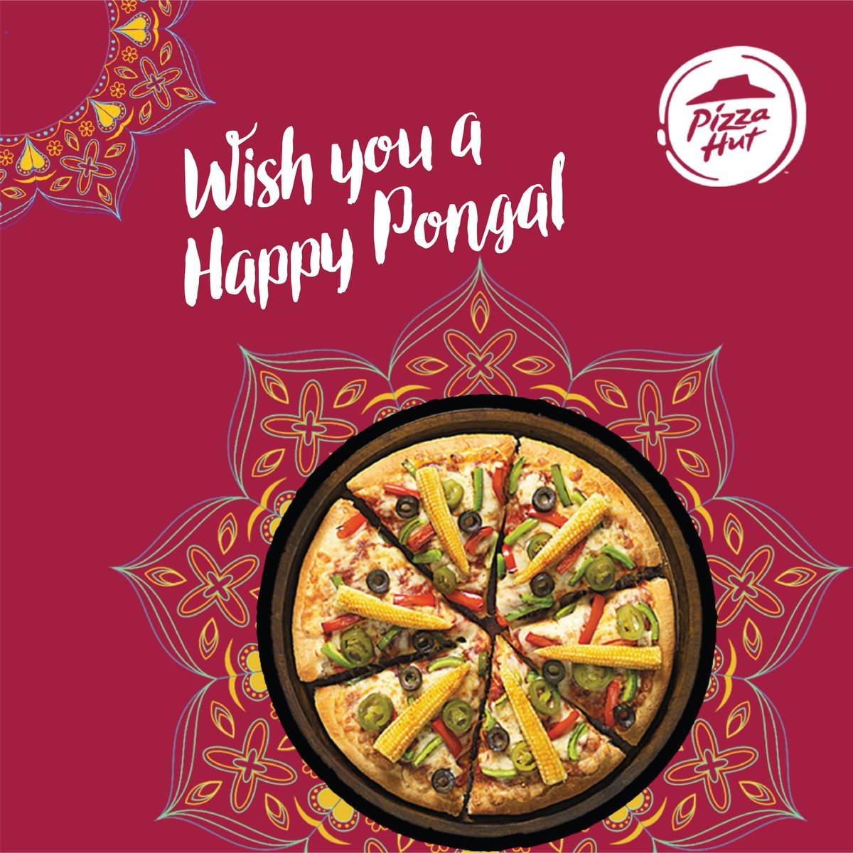 Celebrate the good times with Pizza Hut. Heres to a happy and prosperous Pongal ThinkPizzaThinkPizzaHut https t