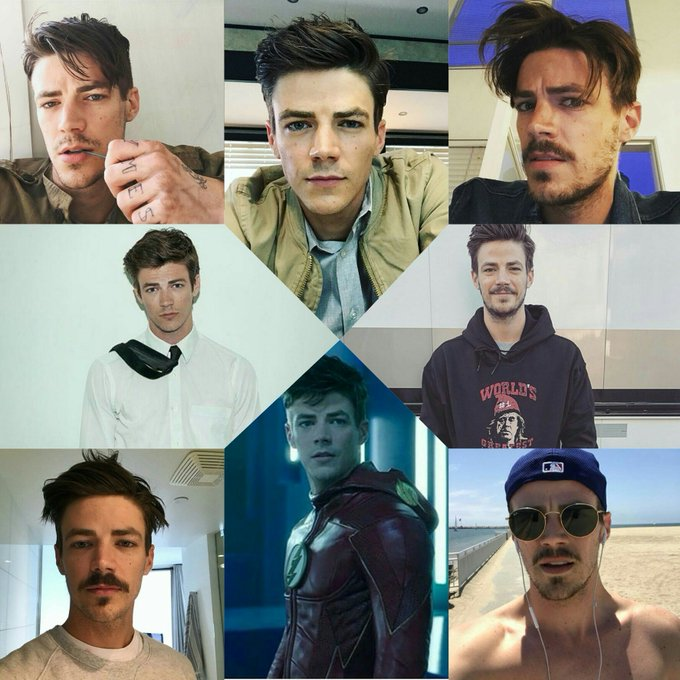Happy 28th birthday to my Superhero. Thomas Grant Gustin.