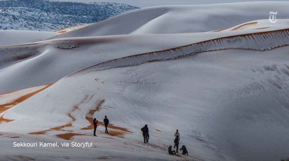 Snow in the Sahara creates a frozen, alien landscape right here on Earth https://t.co/fDbvc4G9Df https://t.co/WEbcGeSST0