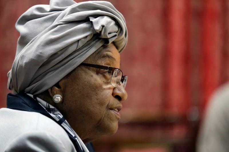 Liberia ruling party expels President Johnson Sirleaf https://t.co/czC6lmVIRq https://t.co/kqFOjKkHvv