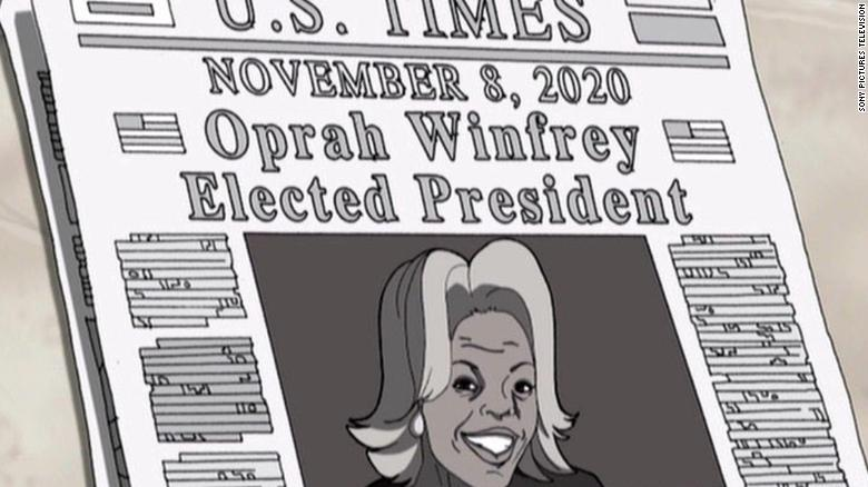 'The Boondocks' predicted an Oprah 2020 win... 12 years ago https://t.co/EZJ4VF6s3A https://t.co/tgkKE9hWAj