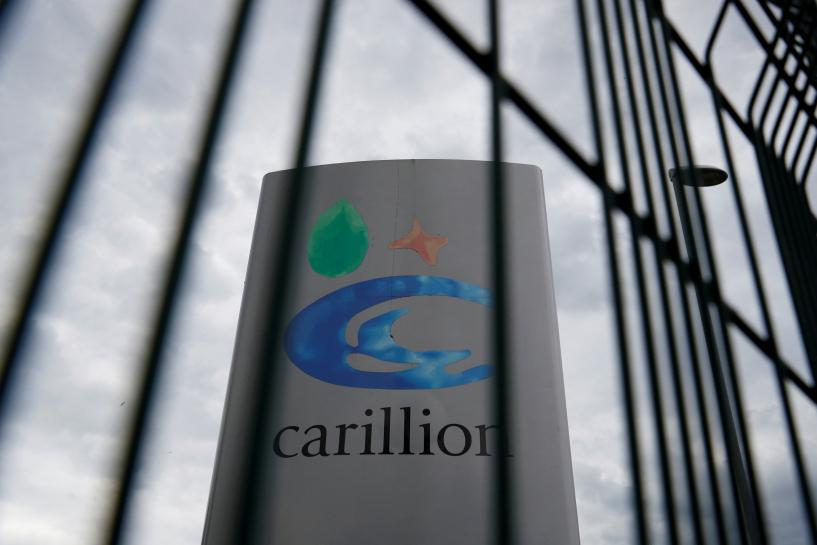 UK government keeping close eye on services company Carillion - Conservative chairman