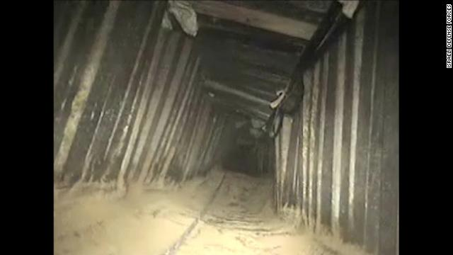 Israel says it destroyed a mile-long Hamas tunnel that stretched from Gaza into Egypt