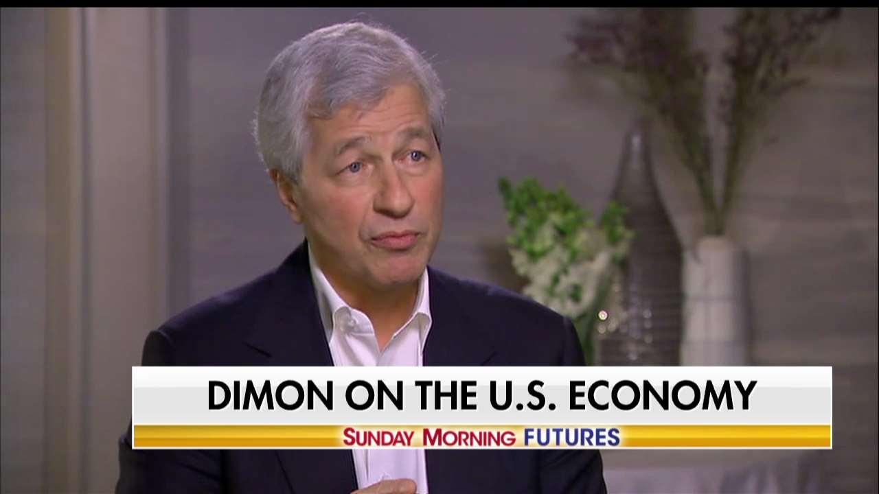 .@jpmorgan CEO Jamie Dimon: 'I think 4% is possible.' #SundayFutures https://t.co/xDdIIzrlik