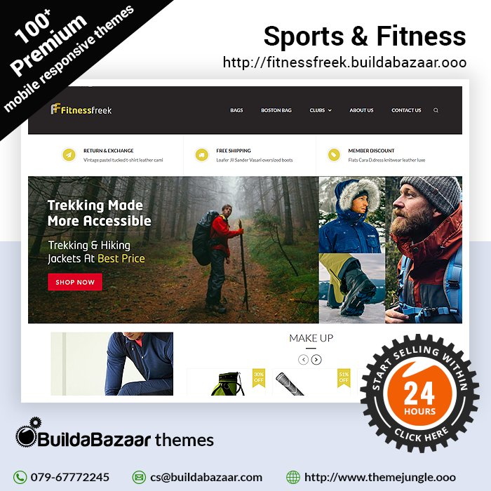 test Twitter Media - Now delight all sports and fitness enthusiasts with your website. With Sports & Fitness theme template at https://t.co/fxNsvLfNX9 you choose the look you desire for your website. #infibeam #buildabazaar #themejungle #buildabazaarthemes  https://t.co/fXFGUoK5gk https://t.co/kTPHg6YgeP