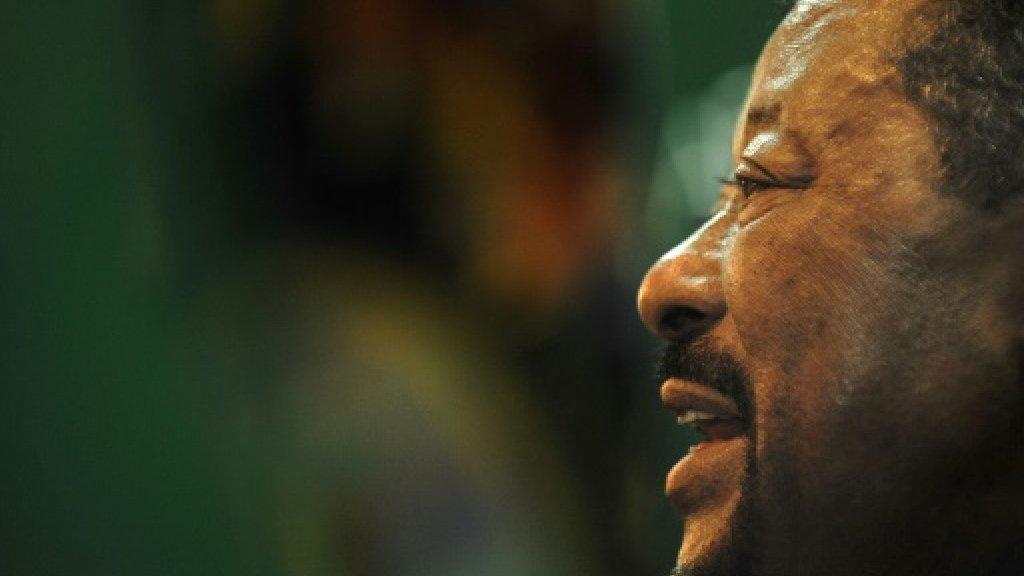 Gabon opposition leader prevented from flying to France