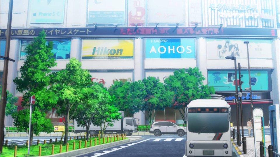 また秋葉原がアニメの聖地になってしまった #3boshi_anime https://t.co/LNb5KM1TJd