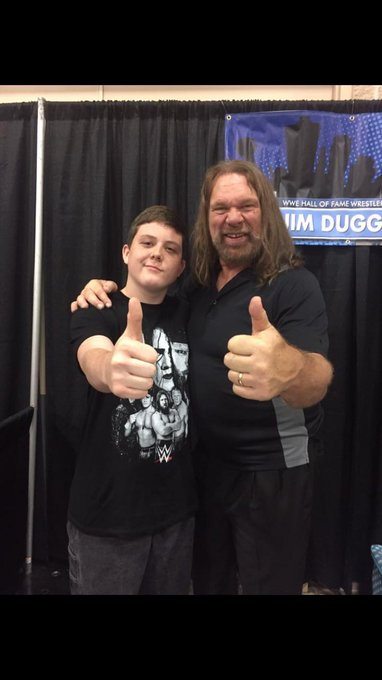 happy birthday Jim Duggan!!! Today s my birthday too!!!