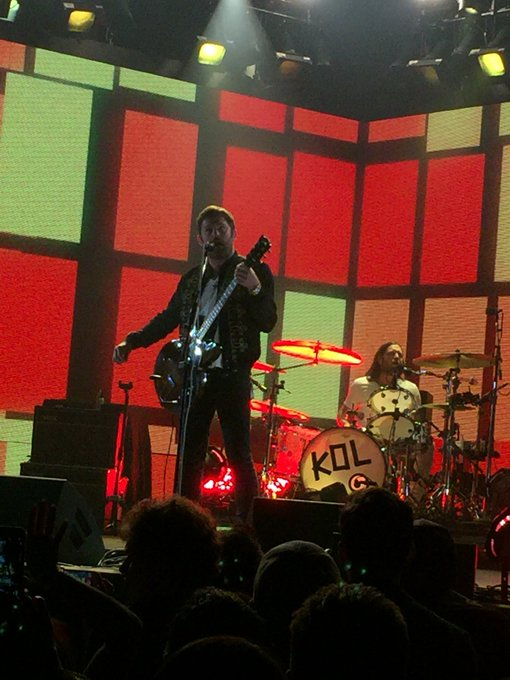 Happy Birthday to Frontman Caleb Followill. My favorite current band. Great live.