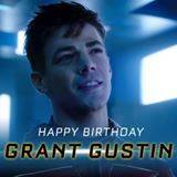 This day couldn\t come fast enough. Happy Birthday, Grant Gustin!