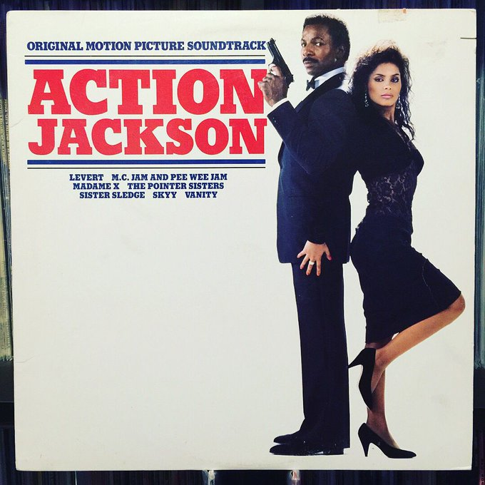 Happy 70th Birthday to the great Carl Weathers! Action Jackson OST / 1988